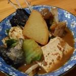 大浜丸 魚力 - アンコウ鍋 どぶ汁