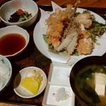 大浜丸 魚力 - 天ぷら定食