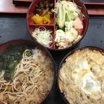 そば処 なかや - 料理写真:親子重セット 1100円