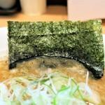魂麺  - のり1枚