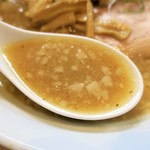 魂麺  - スープ