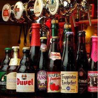 【ベルギービール】圧倒的な品揃え!