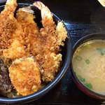 天里 - ランチ天丼 972円