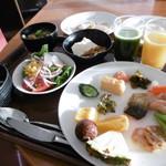 横浜桜木町ワシントンホテル - 朝食ブッフェ