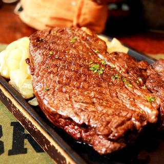 数量限定US産牛ショルダー1kg『塊肉』チョモランマステーキ