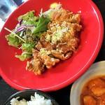 シロクマ - 「油淋鶏定食」