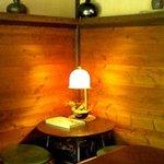 648002 - ランプと苔玉