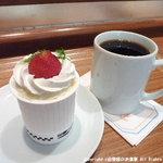 6480414 - カップケーキ+コーヒー