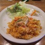 6480951 - パエリヤ風鶏肉の炊き込みご飯