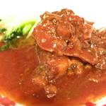 Shirinfanronyun - 牛バラ肉の醤油と紹興酒煮込み