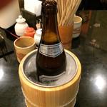 Edotoukyoukoiwasougyoushouwajuuichinengyouzanoshinisechuukaryourieiraku - クーラーに入ったビール