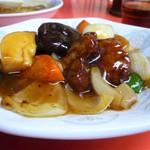楽楽 - ミニ皿酢豚