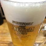 IKR51with五拾壱製麺 - 生ビールはプレモル
