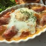 エアポートグリル&バール - 6種類野菜とタマゴのオーブン焼きです。