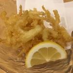 寿司・割烹・地魚料理 英 - 白魚天ぷら