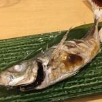 寿司・割烹・地魚料理 英 - 真鰺塩焼き
