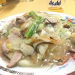 中華料理 末廣亭 - 上海焼麺