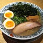 丸源ラーメン - 磯海苔の塩ラーメン(半熟煮玉子入り)780円