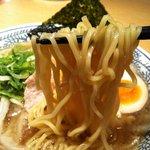 丸源ラーメン - 肉そば アップ