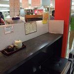 にぎりたて  - 2011年お伊勢参り朝食 このカウンターでいただきます!
