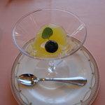 シェ松尾 - オレンジのジュレ
