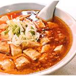 """大弘軒 - マーボメン 650円 日本式の甘みのある""""マーボ""""麺。クセになる味わいです。"""
