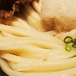 釜粋 - 剛麺です