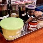 濃豚骨醤油ラーメン 馬力屋 -