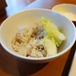 ごちそうさま - 玄米ご飯