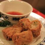 重慶飯店 -  湯葉巻き揚げ これはおいしい♪