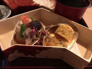日本料理 山崎 - 煮物と揚げ物