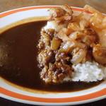 ハングリーベア・レストラン - チキン&ローストオニオンカレー(辛口)