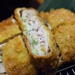 銀座 ゲンカツ - 料理写真:キムカツ ねぎ塩(キムカツ膳)