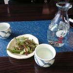 網元おおば - 日本酒とお通し