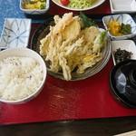 網元おおば - 料理写真:ワカサギ天麩羅定食