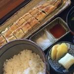 64816262 - 白焼きご飯