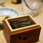 おそばの甲賀 - 焼き海苔