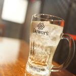 海鮮陶板居酒屋 赤の雅 - ハイボル