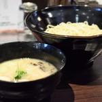 らーめん 玉彦 - 料理写真:鶏塩つけ麺