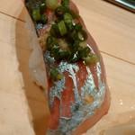 Atabouzushi - 鯵はねかせタイミング最高で旨味たっぷり