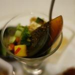 GINZA芳園 - ピータン豆腐