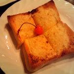 まるやまコーヒーショップ - アーモンドトースト