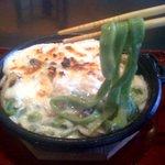 そば酒房はなわ - 料理写真:三郷の特産品の「小松菜」の小松菜グラタン