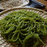 6482528 - 季節の変わり蕎麦(さらしな) ver.抹茶