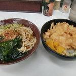 そばっ子 - かき揚げ丼&そば500円