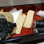 64821000 - 天ぷら、卵焼き、そば寿司