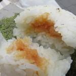 GOKU OMUSUBI - 明太子がたっぷり