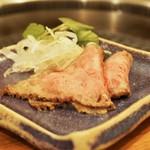 肉家 桜真 - 黒毛和牛ローストビーフ