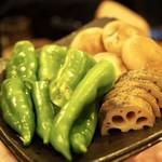 肉家 桜真 - 焼き野菜