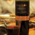 肉家 桜真 - 赤:Del Sol Cabernet Sauvignon/Chile